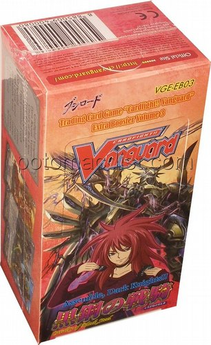 Cardfight Vanguard: Cavalry of Black Steel Booster Box [EB03]