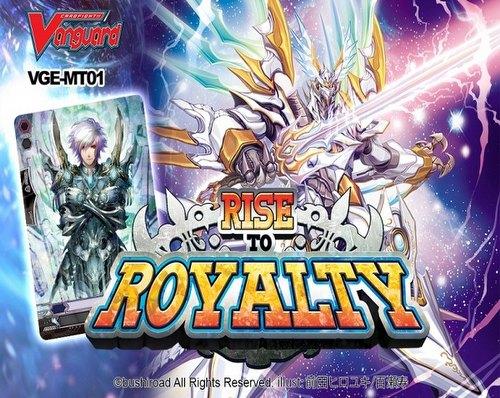 Cardfight Vanguard: Rise to Royalty Mega Trial Deck Starter Box Case [VGE-MT01/15 decks]