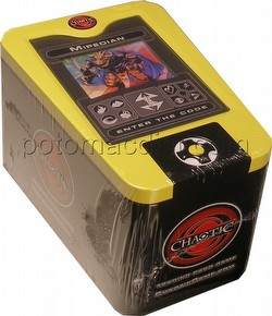 Chaotic CCG: 2008 Mipedian Collectible Tin & Scanner