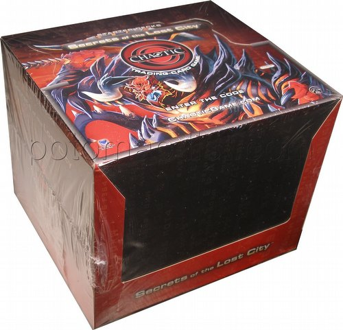 Chaotic CCG: Secrets of the Lost City Starter Deck Box