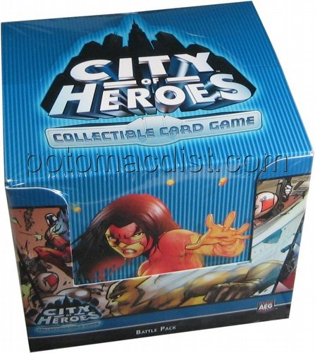 City of Heroes Collectible Card Game [CCG]: Arena Battle Pack Box