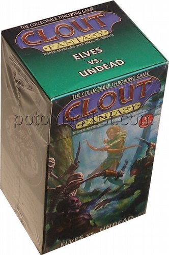 Clout Fantasy: Elves vs. Undead Starter Set (Playing Stack)