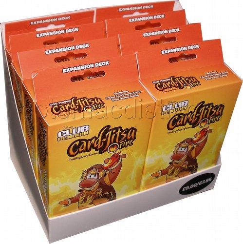 Club Penguin: Card-Jitsu Fire Expansion Deck Box