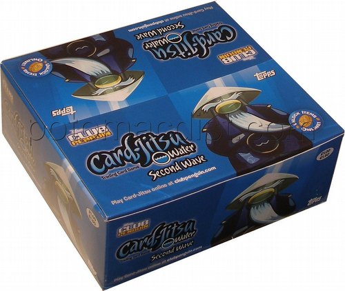 Club Penguin: Card-Jitsu Water Second Wave Booster Box