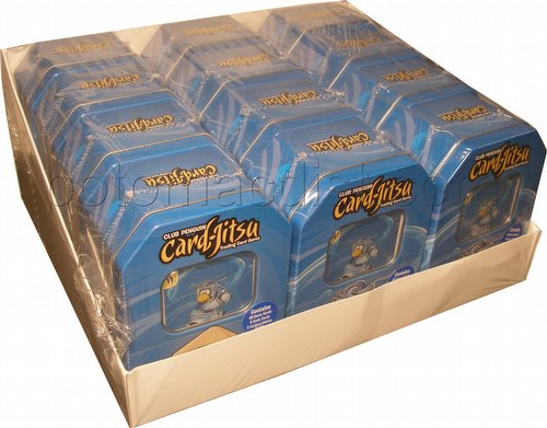 Club Penguin: Card-Jitsu Water Second Wave Tin Case [12 tins]