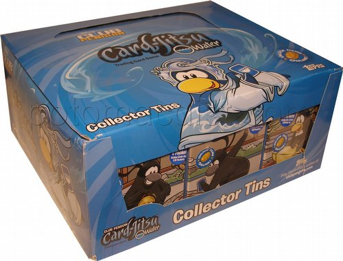 Club Penguin: Card-Jitsu Water First Wave Tin Case [12 tins]