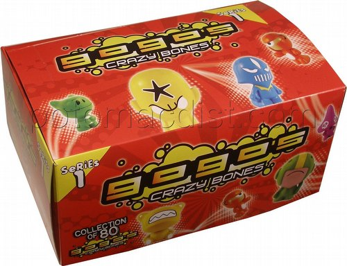 Crazy Bones GoGos Series 1 Box