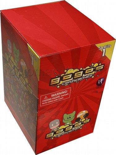 Crazy Bones GoGos Series 1 Box [35 packs]