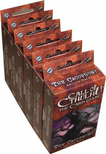 Call of Cthulhu LCG: Yuggoth Cycle - The Cacophony Asylum Pack Box [6 packs]