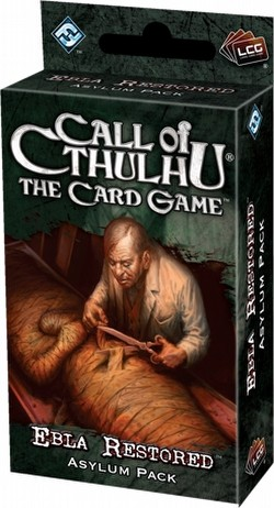 Call of Cthulhu LCG: Revelations - Ebla Restored Asylum Pack Box [6 Packs]