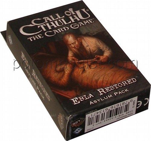 Call of Cthulhu LCG: Revelations - Ebla Restored Asylum Pack