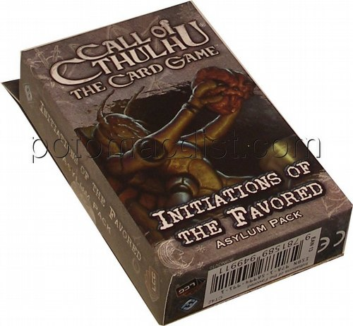Call of Cthulhu LCG: The Rituals of the Order - Initiations of the Favored Asylum Pack