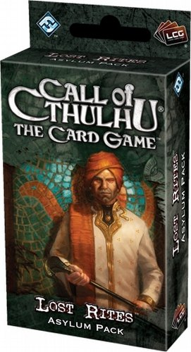Call of Cthulhu LCG: Revelations - Lost Rites Asylum Pack Box [6 packs]