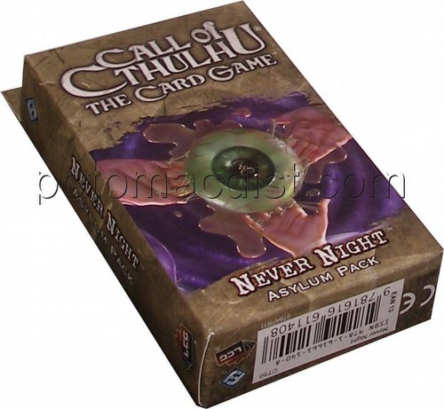 Call of Cthulhu LCG: Ancient Relics Cycle - Never Night Asylum Pack