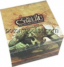 Call of Cthulhu CCG: Arkham Edition Starter Deck Box