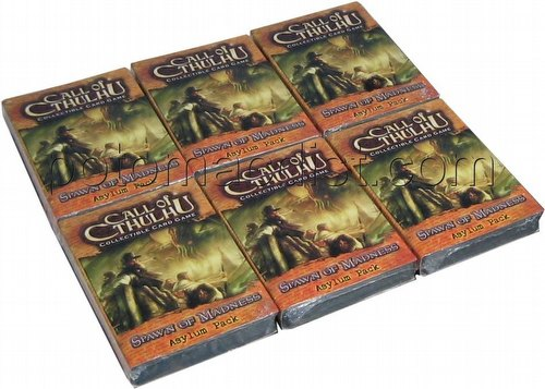 Call of Cthulhu LCG: Spawn of Madness Asylum Pack Box [6 packs]