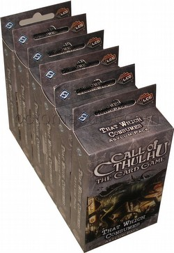Call of Cthulhu LCG: The Rituals of the Order - That Which Consumes Asylum Pack Box [6 packs]