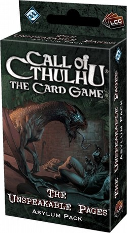 Call of Cthulhu LCG: Revelations - Unspeakable Pages Asylum Pack Box [6 packs]