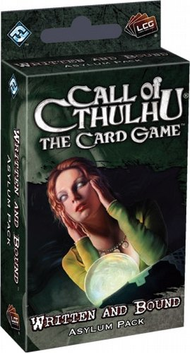 Call of Cthulhu LCG: Revelations - Written and Bound Asylum Pack Box [6 packs]
