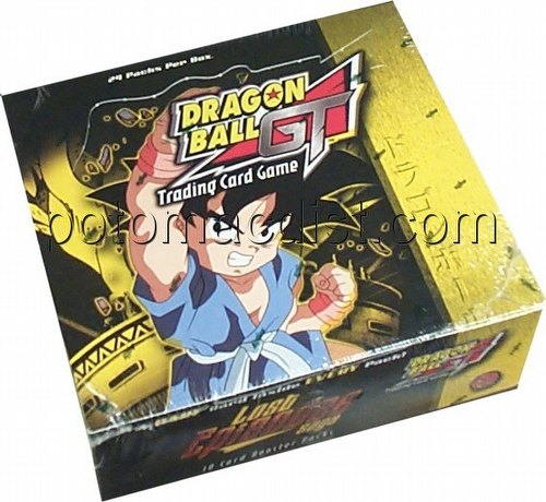 Dragonball GT TCG: Lost Episodes Saga Booster Box [Unlimited]