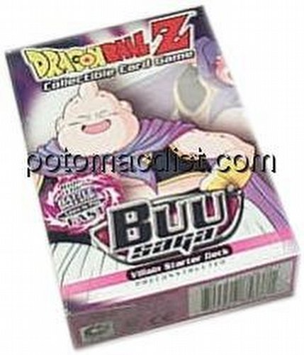 Dragonball Z Collectible Card Game [CCG]: Buu Villian Starter Deck [Limited]