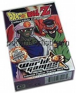 Dragonball Z Collectible Card Game [CCG]: World Games Saga Celestial Fighter Starter Deck [Limited]