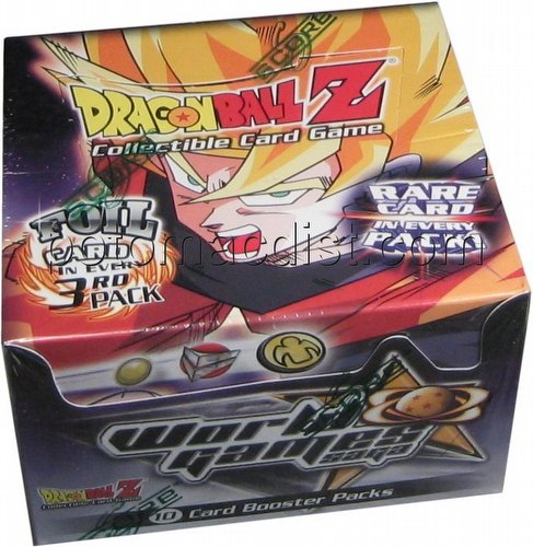 Dragonball Z Collectible Card Game [CCG]: World Games Saga Booster Box [Unlimited/Retail]