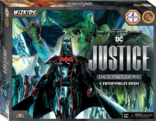 DC Dice Masters: Justice Dice Building Game Campaign Box