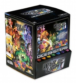 DC Dice Masters: War of Light Dice Building Game Gravity Feed Box