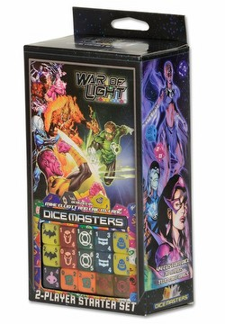 DC Dice Masters: War of Light Dice Building Game Starter Set Box