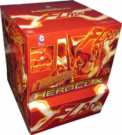 HeroClix: DC The Flash Booster Gravity Feed Box