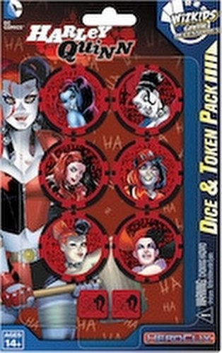 HeroClix: DC Harley Quinn Dice & Token Pack