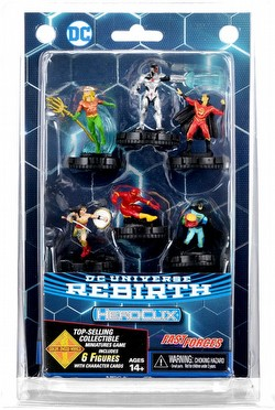 HeroClix: DC Rebirth Fast Forces Pack