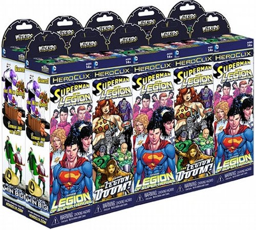 HeroClix: DC Superman and the Legion of Super-Heroes Booster Brick