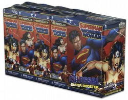 HeroClix: DC Superman and Wonder Woman Booster Brick [8 regular boosters/1 super booster]