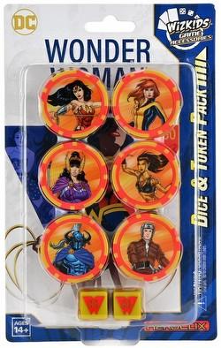 HeroClix: DC Wonder Woman 80th Anniversary Dice & Token Pack