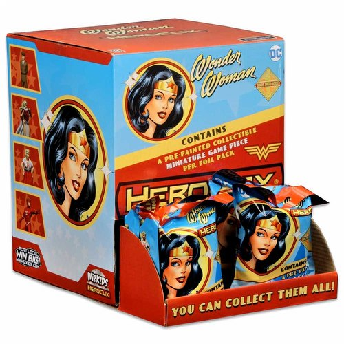 HeroClix: DC Wonder Woman Gravity Feed Box