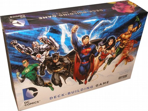 DC Comics Deck-Building Game Box