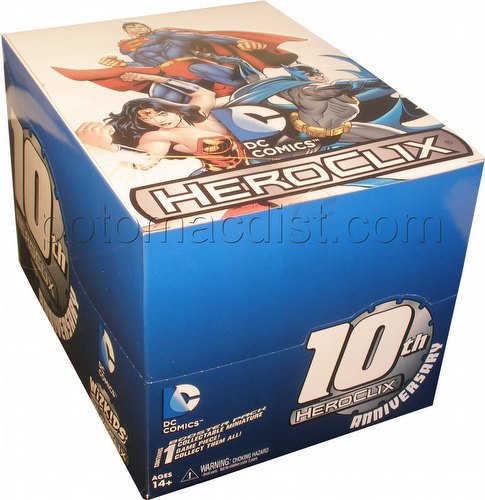 HeroClix: DC 10th Anniversary Countertop Display Box