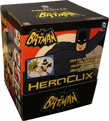 HeroClix: DC Batman Classic TV Series Gravity Feed Box