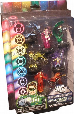 HeroClix: DC Blackest Night 7 Figure Starter Game Set