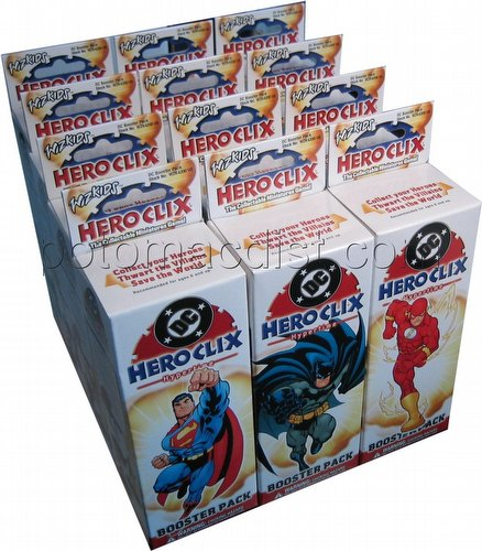 HeroClix: DC Hypertime [12 boosters]