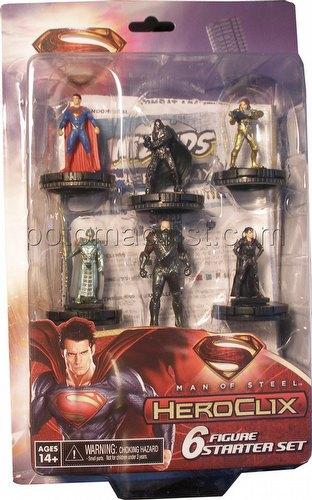 HeroClix: DC Man of Steel Starter Set Box