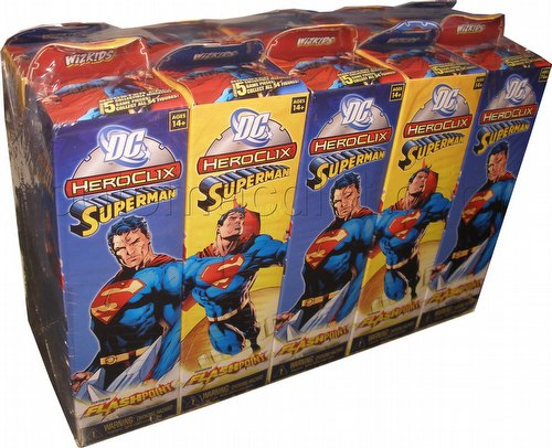 HeroClix: DC Superman Booster Brick (Half Case) [10 boosters]