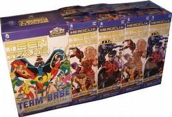 HeroClix: DC Teen Titans Booster Brick [8 regular bstrs/1 super bstr]