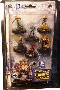 HeroClix: DC Teen Titans The Ravagers Fast Forces Pack