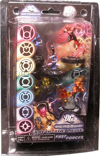 HeroClix: DC 75th Anniversary - War of Light Fast Forces Pack