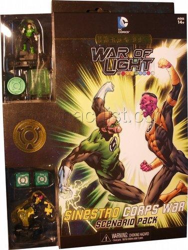 HeroClix: DC War of Light Sinestro Corp War Scenario Pack
