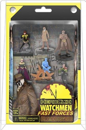 HeroClix: DC Watchmen Fast Forces 6-Pack