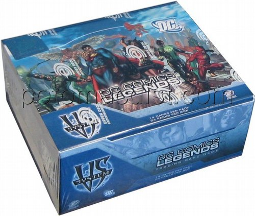 DC VS: Legends Booster Box